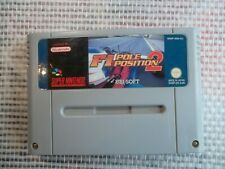 Jeu Super Nintendo / Snes Game F1 Pole Position 2 PAL retrogaming authentic *