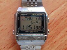 Vintage Casio Watch Data Bank Model DB-500