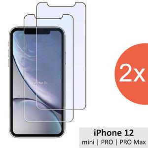 2x Apple iPhone 12 Pro Max Mini Schutzglas Panzerfolie 9H Glas Schutzfolie Folie