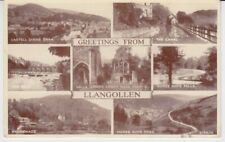 Postcard United Kingdom Wales Greetings From Llangollen