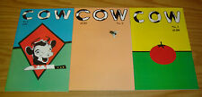 COW #1-3 VF/NM complete series - michael t. gilbert 2 copybook tales underground