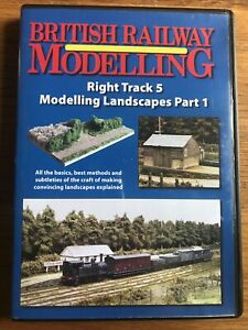 British Railway Modelling DVD Right Track 5 Landscapes Part 1 (2006)