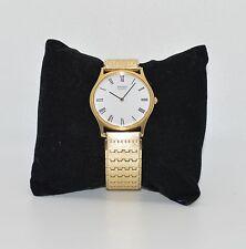 Seiko Quartz Watch Vintage Gold Tone 7800-8009 Working Order New battery