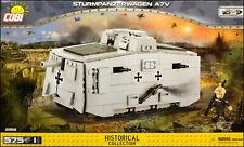COBI Sturmpanzerwagen A7V (2982) - 575 elem. - WWI German tank