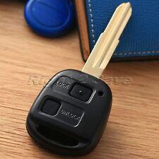 Car Key Fob 2BTN Remote Switch Rubber Pad for Toyota Yaris Avensis Corolla RAV4