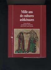(178) Mille ans de cultures ashkénazes / Baumgarten Ertel Niborski Wieviorka
