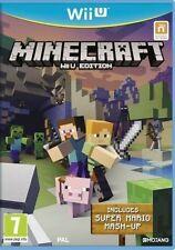 Minecraft Nintendo Wii U Game PAL Registered Priority