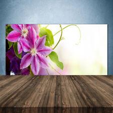 Crédence de cuisine en verre Panneau 140x70 Floral Fleurs