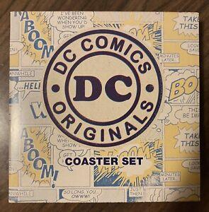 DC Comics Originals Coaster Set - Batman, Superman, The Flash & Green Lantern