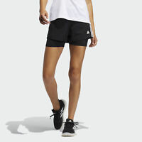 adidas Pacer 3-Stripes Woven Two-in-One Shorts Women's