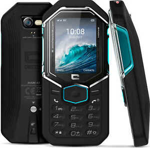 Téléphone Crosscall Shark X3 Robuste 3G+ IP68 Dual SIM Anti Choc Etanche