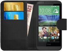 G-Shield® Luxury Leather Magnetic Flip Wallet Slim Case Cover For HTC Desire 510