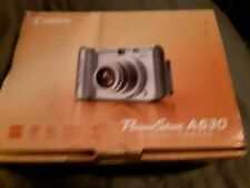Canon PowerShot A630 8.0MP Digital Camera With Box and software FOR  PARTS only