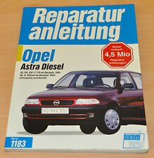 Opel Astra Diesel GL TD CD 1,7 1991 D ab 1993 Kombi Reparaturanleitung B1183