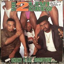 2 LIVE CREW - SHAKE A LIL' SOMETHIN' (VINYL 2LP)  1996!!  RARE!!  RED + GREEN!!