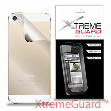 XtremeGuard Clear LCD BACK ONLY Screen Protector Shield Skin For Apple iPhone 5S