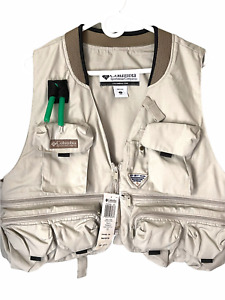 Columbia Men's PFG Fishing Vest Size L Performance Fishing Gear New with Tags