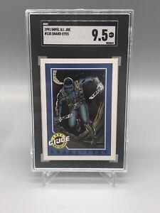 1991 Impel G.I. Joe Snake-Eyes #41 SGC 9.5 GEM MINT RARE Crack