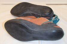 Scarpa Helix Orange Rock Climbing Shoes Womens Size 5 Eu 37