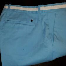 New Mens G/Fore GFore Pacific Blue Waist Stripe Tech Golf Pants 32x32 Trouser