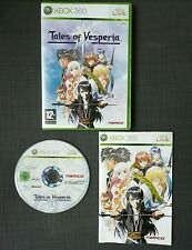TALES OF VESPERIA XBOX 360 COMPLET. VERSION FRANCAISE PAL.