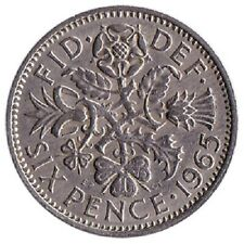 Lucky Sixpence 1947- 1967 - Birthday or anniversary - Choice of Year Date