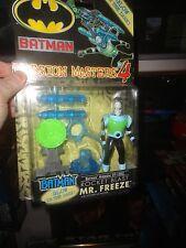 BATMAN MISSION MASTER 4 SERIES ROCKET BLAST MR. FREEZE, UNOPENED