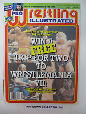 Pro Wrestling Illustrated    February  1991    Scott Steiner Best Wrestler