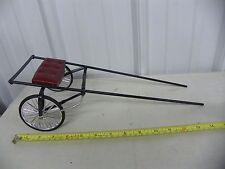 SULKY Pacer Race Cart for Breyer Horses ~ Handmade Custom ~ Burgundy