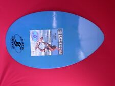 SURF BOARD SHARK SKIMZ ANGELIN WOOD , BLUE, BLACK, GOLD & SILVER, SELECT COLOR