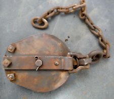 Vintage Pulley or Antique Block for Use or Display