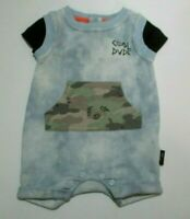 Infant Boys 3PC Awesome Dude Bodysuit Pack Set Mini Heroes