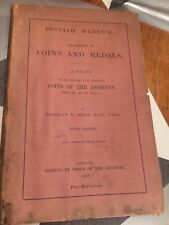 British Museum Coins and Medals A Guide Coins of The Ancients Barclay 1909 TBLO