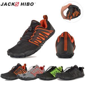 Mens Barefoot Running Shoes Beach Minimalist Neutral Running Gym and Training