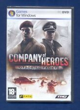 PC GAME : COMPANY OF HEROES :  OPOSING FRONTS : BRAND NEW