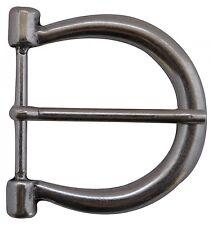 fronhofer boucle de ceinture argent, Fer à cheval 4,5 cm, Argentée