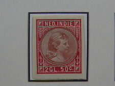 Stamp essay trial probe Nederlands Indie Dutch East Indies Imperforated 50c (*)