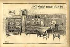 1903 Old English Furniture 17th And 18th Centuries