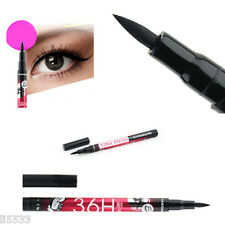 Black Waterproof Liquid Eyeliner Eye Liner Pen Cosmetics Make Up Beauty UK