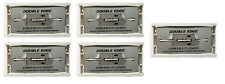 Stainless Steel Generic Double Edge Razor Blades, Fits Safety Razors - 50 Blades