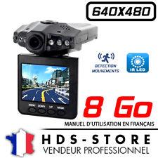 "Kamera Auto an Bord Carhddvr 640X480 6 Ir LED + Karte 8 Go Video TFT 2,5 """