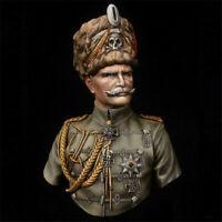 1/9 Model Kits General Auguste Bust Unpainted Resin GK Unassembled