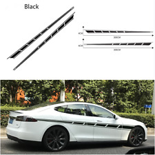 2PCS Vinyl Car Side Stripes Decals Stickers Auto Vinyl Graphics For SUV Off-road