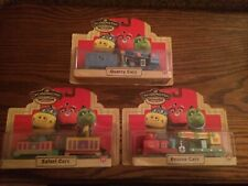 Chuggington Wood Trains Lot #410 Safari, Quarry, & Rescue Cars New in Packages!