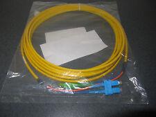 LWL Duplexkabel - E2000 Apc-Sc Hémolyse Intravasculaire 0,09/125 Jaune 5 Meter