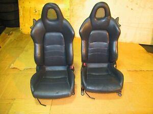 2000 2009 Honda S2000 Seats Black AP1 AP2 S2K Seats leather