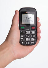 TTfone Jupiter 2 Vodafone Pay As You Go Senior Phone Big Button with £10 Credit