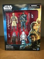 Star Wars - Rogue One - JEDHA REVOLT 4-Pack Action Figures - NEW