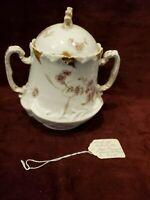 Antique Jean Pouyat Limoges (JPL) Biscuit Jar c1905
