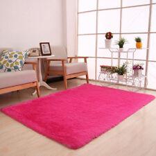 Fluffy Rugs Anti-Skid Shaggy Area Rug Dining Room Carpet Floor Mat Home Bedroom